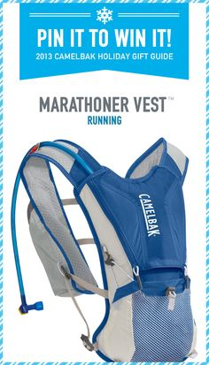 CamelBak Marathoner is the ideal hands-free hydration system for marathon training and trail running adventures. Multiple adjustment straps and versatile cargo space fit any runner's needs.