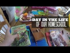 Day in the Life of Our Homeschool ~ In today's video I share a few of our typical homeschool routines including getting outside and playing FIRST, read alouds with lunch and Legos, a peak in my...