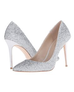 Imagine Vince Camuto; OlsonDominate the dance floor in the Olson, covered from tip-to-heel counter in colored and silver crystals over a satin upper. The fierce high heel trumps any couture pump when paired with fine fashion.