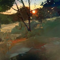 "Saatchi Art Artist: Carmen Merino; Acrylic 2012 Painting ""Boadilla´s forest CARMEN MERINO"""
