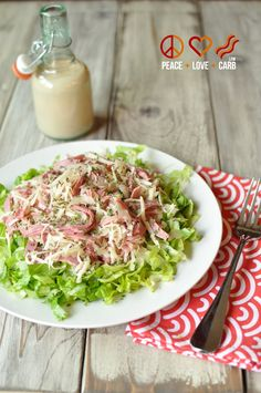 Low Carb Reuben Chopped Salad   Peace Love and Low Carb Low Carb Keto, Low Carb Recipes, Beef Recipes, Real Food Recipes, Healthy Recipes, Diabetic Recipes, Diabetic Salads, Diabetic Cookbook, Atkins Recipes