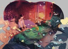 This is one of the other ghibli works, and it's very very touching hearts >&. Grave of the Fireflies Japanese Animated Movies, Japanese Film, Manga Illustration, Illustrations, Hotaru No Haka, Firefly Art, Grave Of The Fireflies, Fanart, Studio Ghibli Movies