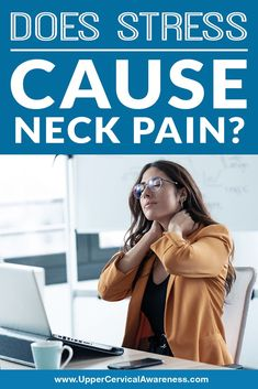 tress and pressure can also be due to emotional distress that you may be experiencing anytime. Let's dig deeper and investigate how stress can affect your neck. Also, let's find out if there are any ways you can relieve this kind of pain. Reproductive System, Endocrine System, Respiratory System, Obsessive Compulsive Behavior, Neck Pain Relief, Effects Of Stress, Stress Causes, Fight Or Flight, Regular Exercise
