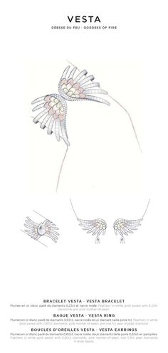 Lalique Jewellery Sketches, Jewelry Sketch, Jewelry Art, Fashion Design Sketches, Sketch Design, Lalique Jewelry, Jewelry Design Drawing, Jewelry Illustration, Simple Bracelets