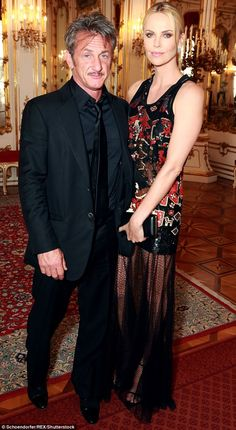Her history: Charlize has had several high-profile romances of her own. She was briefly with long time friend Sean Penn in 2014 and 2015, pictured about in May 2015