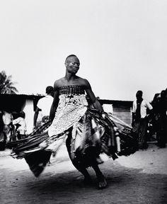 Ifanhin, dança de Xangô, Benim, 1948-1951, de Pierre Verger.