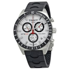 1cd2a171f0b6 online shopping for Tissot Men s Rubber Band Analog Chronograph Watch -  Silver - from top store. See new offer for Tissot Men s Rubber Band Analog  ...
