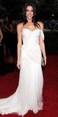 Best of the 2012 Met Gala-Ashley Greene always looks beautiful! Love this dress!