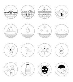 화장품 관련 아이콘, 화장품 아이콘, 피키스킨, icon, cosmetics icon, 피부관련 아이콘, 피부 아이콘, 사용법, line icon Web Layout, Layout Design, Skins Quotes, Web Design, Brand Identity Design, Design Reference, Banner Design, Infographic, Branding
