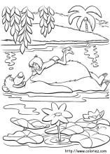 Jungle Book Coloring Pages On