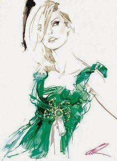 Fashionated V: David Downton Illustrations