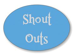 Give kudos where kudos are due. Potty Mouth Tours gives a #SHOUTOUT every second Saturday.