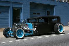 Black n' Blue Rat Rod.