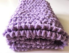Lilac Baby Blanket Crochet Baby Blanket Lavender Blanket