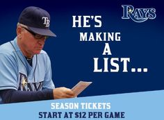 Surprise loved ones with Rays Season Tickets this holiday season!