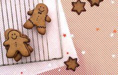 Healthy baking: Gingerbread koekjes