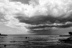 The sea and the storm - The sea and the storm The beautiful croatian sea during a storm