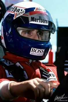 Alain Prost Detroit GP 1985