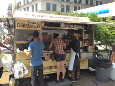 Calexico Cart  - California style Mexican food done right! http://calexico.net/