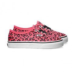 We love Vans Authentic Leopard Sneakers!
