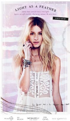 Free People newsletter