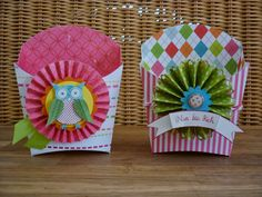 """Jenny's paper world: Upbeat """"French-bags"""""""