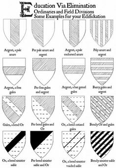 Medieval Art, Medieval Fantasy, Nerd Crafts, Family Crest, Nerd Stuff, Flags, Design Elements, Art Projects, Art Ideas