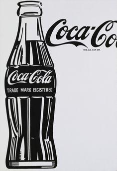 """Andy Warhol: """"Coca-Cola [4] [Large Coca-Cola]"""" (1962)."""