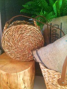DIY HIT SEZONU!!!! - Jak zrobić okrągły koszyk? Circle Basket Bag | Dalwi Szyje - blog o szyciu i nie tylko