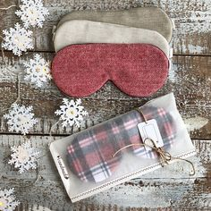 New Crafts, Sewing Crafts, Sewing Projects, Grab Bags, Sleep Mask, Diy Clothes, Lace Silk, Knitting, Handmade