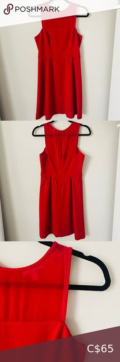 BANANA REPUBLIC Red Dress- Size 6 In excellent condition. Striking red dress, size Very flattering cut and extremely comfortable. Fit & Flare -non smoking home Banana Republic Dresses Wedding Plus Fashion, Fashion Tips, Fashion Trends, Banana Republic Dress, Wedding Colors, Smoking, Flare, Cold Shoulder Dress, Wedding Dresses