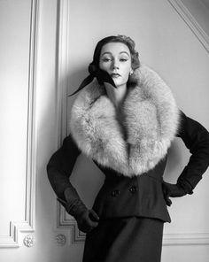 Sophie Litvak, photo by Milton Greene, Paris, 1952