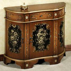 Chandler Floral Storage Cabinet