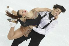 Alisa Agafonova and Alper Ucar of Turkey perform during the Ice Dance Short Dance of the Figure Skating event at the Iceberg Palace during the Sochi 2014 Olympic Games, Sochi, Russia, 16 February 2014.