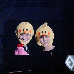 Chanyeol and Sehun 😂