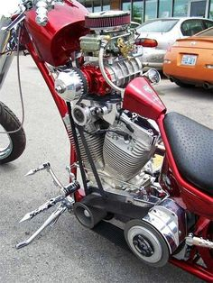 Blown V-twin, Oh yeah, talk about mild to Wild, awesome