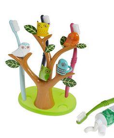 Go Brush Your Tree-th Toothbrush Holder