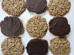 Chocolate Oatmeal Lace Cookies (GF & Milk Free) — Beneath the Crust Lace Cookies Recipe, Tea Cookies, No Bake Cookies, Oatmeal Lace Cookies, Soft Peanut Butter Cookies, Chocolate Oatmeal, Melting Chocolate Chips, Frost Bakery, Banana Crumble