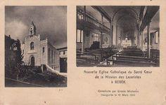 Yeni Katolik Kilisesi (Sacre Coeur) açılışı mart 1910 (Bebek, Istanbul) #istanlook