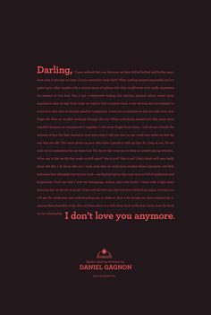 #branding, creative #copy, #advertising Daniel Gagnon: Speed Reading - Break up