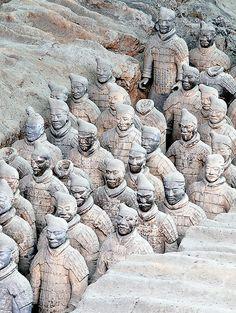 China. Guerreros de Xian. Terracotta Army. Explore 7 de febrero 2014   Flickr: Intercambio de fotos