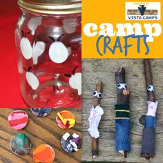 50 Summer Camp-Inspired Activities for Kids – so many fun things to do with kids! 50 Summer Camp-Inspired Activities for Kids – so many fun things to do with kids! Summer Camp Activities, Summer Camp Crafts, Craft Activities, Creative Activities, Family Activities, Indoor Activities, Camping Hacks, Camping Theme, Camping Ideas