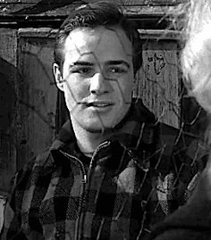 "Marlon Brando as Terry Malloy in ""On The Waterfront"" (1954)."