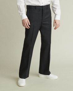 The Essential Suit The Essential, Mens Essentials, Smart Design, Jil Sander, Trousers, Pants, Dress Codes, Acne Studios, Mens Suits
