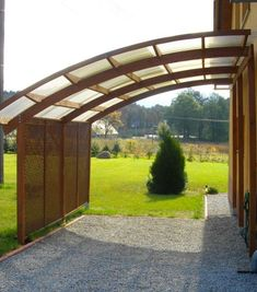 Ludlow Lean-to Carport