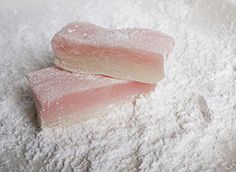 Microwavable Mochi Recipe // mochiko or rice flour, sugar (sub sweetener), corn starch (sub arrowroot), food coloring //
