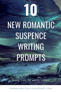 Are You Into Writing Romantic Suspense? Not Sure What To Write Next? Here Are 10 New Romantic Writing Prompts with a Suspense Twist To Help You Get Started... #writingprompts #romancewriting #writingprompt Romantic Writing Prompts, Writing Prompts For Writers, Writing Romance, Writing Fantasy, Writers Notebook, Creative Writing Prompts, Book Writing Tips, Writing Help, Writing Skills