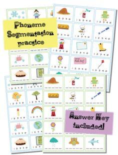 math worksheet : how do you teach phoneme segmentation 4 activities for teaching  : Phoneme Segmentation Worksheets Kindergarten