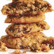 Banana-Walnut Chocolate-Chunk Cookies Recipe