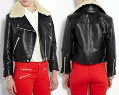 I want this jacket :))) except for the collar